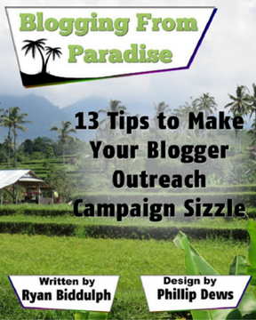 pdf 13 tips to make your blogger outreach campaign sizzle